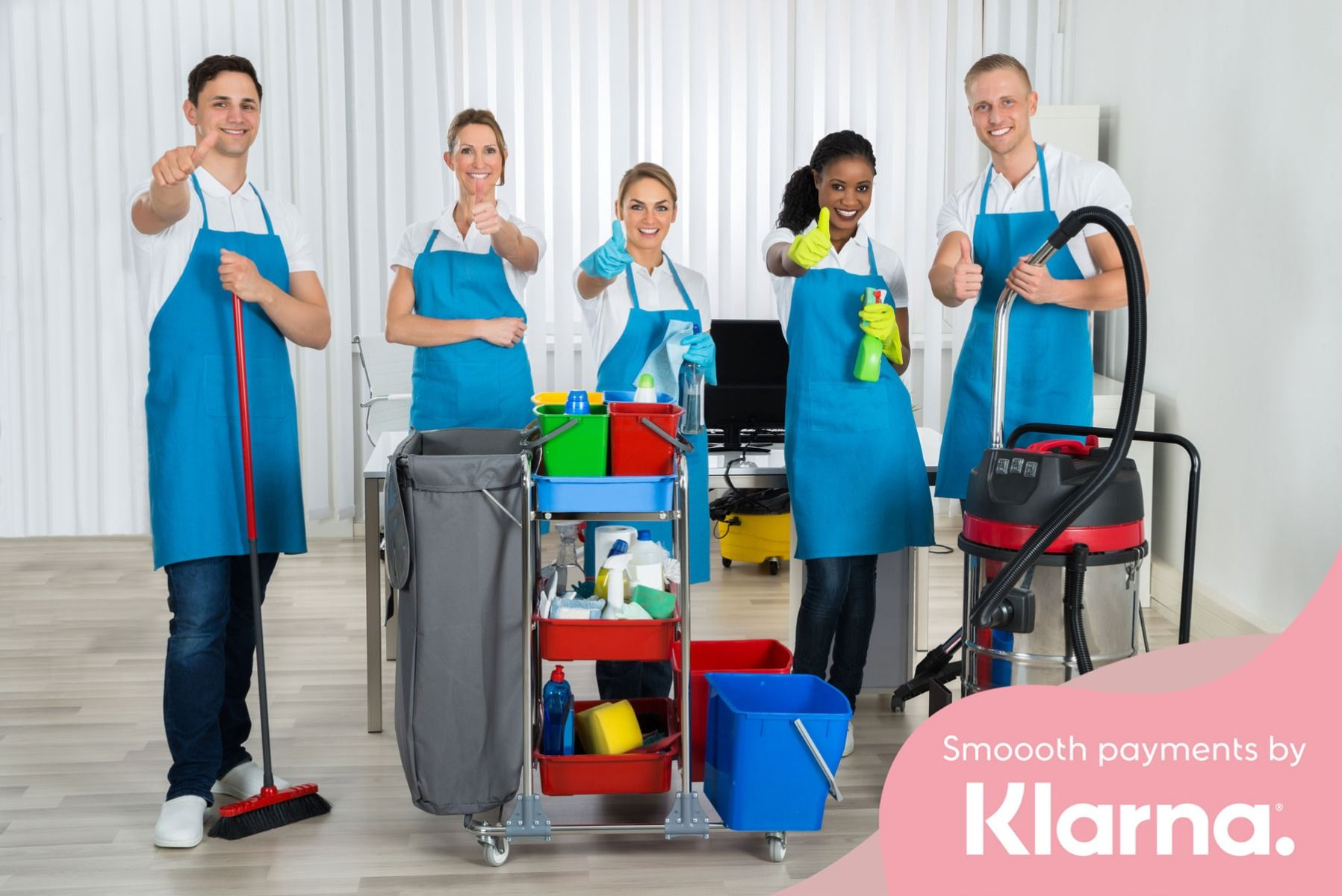 Pay the way you want with Klarna